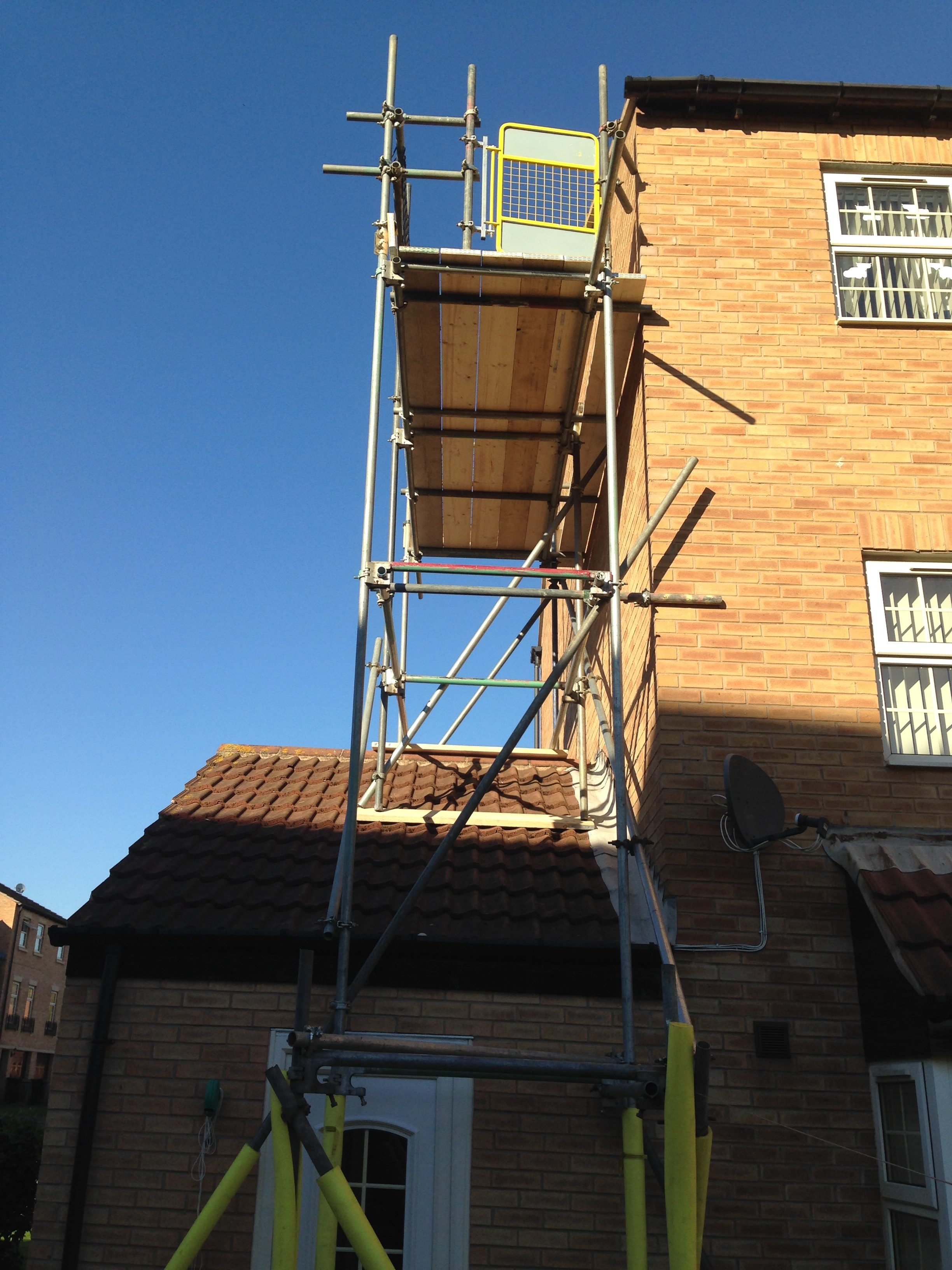 Residential Scaffolding Sheffield - Local Scaffold Services Ltd