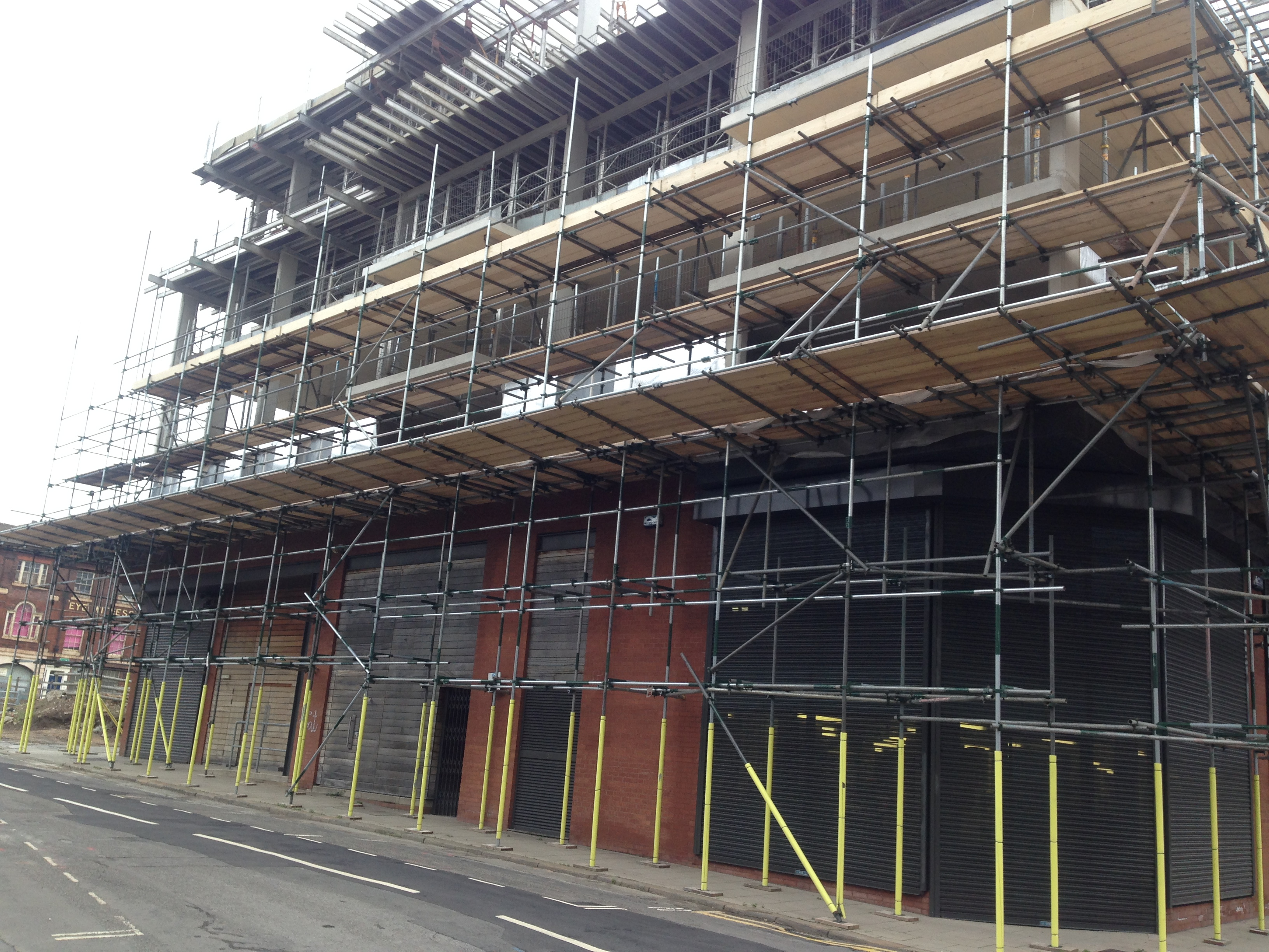 Scaffolding Company Sheffield - Local Scaffold Services Ltd