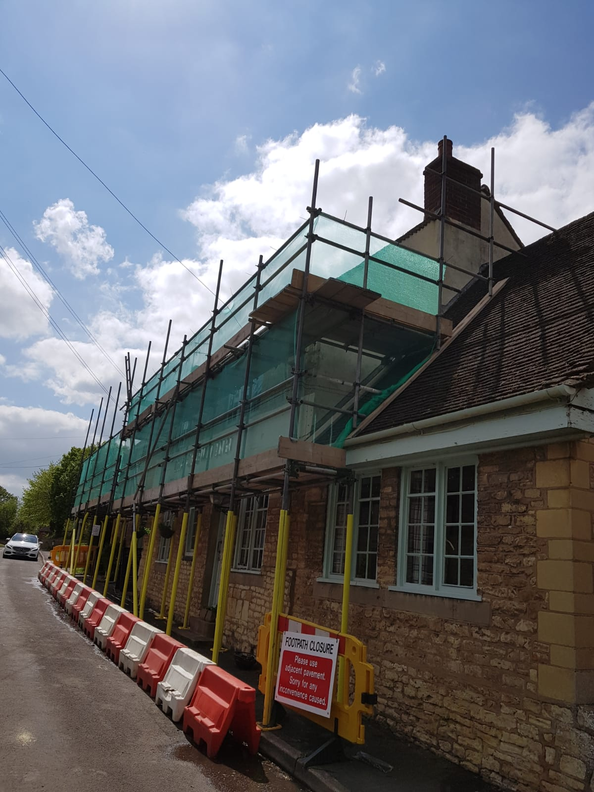Lincoln External Scaffold